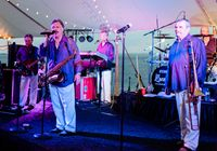 The Embers featuring Craig Woolard, shown performing in this 2018 publicity photo from the band, are scheduled to play the Crepe Myrtle Festival in Stantonsburg.