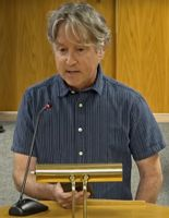 Rick Mercier tells Johnston commissioners to heed the words of former slaves, not race-baiters and fear-mongers.