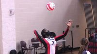Angelica Turnage led Franklinton with eight kills and six blocks in the win against Northern Nash.