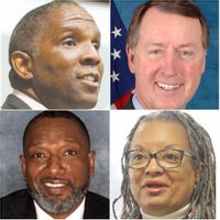 Reginald Speight, top left, is the new USDA Rural Development state director for North Carolina, while Bob Etheridge, top right, is the state's new USDA Farm Service Agency director. Victor Armstrong, bottom left, is the N.C. Department of Health and Human Services' new chief equity officer. Angela Bryant, bottom left, will work with Armstrong as the NCDHHS' assistant secretary for equity and inclusion.