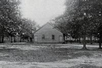 This is Bethesda Baptist Church in an undated photo.