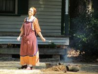 A grant will help the Tobacco Farm Life Museum in Kenly launch a living history program with costumed interpreters.