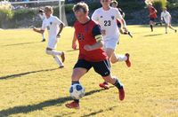 Noah Smith scored a goal and dished out an assist for Franklin Academy in the 3-1 win over East Wake Academy.