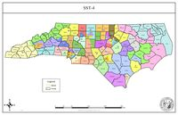 An N.C. Senate Redistricting Committee plan designated as SST-4 proposes combining Wilson County with Wayne and Greene counties to form Senate District 9.