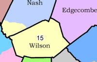 A state House redistricting plan seeks to merge a swath of southern Nash County with Wilson County to form N.C. House District 15.
