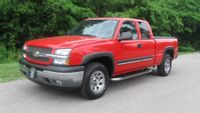 Clayton police think a pickup like this one hit and killed a man.