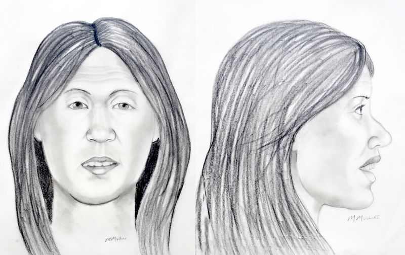 This police sketch depicts the likely appearance of an unknown woman whose body was found in Lake Norman in 1997.