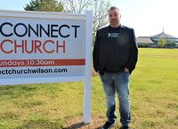 Connect Church of Wilson will celebrate its 100th birthday on Sunday. Pastor Michael Crocker, shown here, said the key to the church's longevity has been the ability to accept change and have a clear mission.