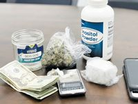 The Granville County Sheriff's Office said it found cocaine, marijuana and other drugs during a search of an Oxford home this month.