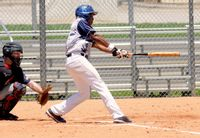Kenny Glanville recorded two hits, two runs and three RBIs for the Swamp Donkeys.