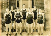 The Stem High School basketball team is said to have defeated the UNC Tar Heels in a 1936 scrimmage.