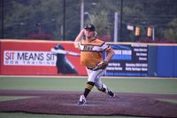 Wilson right-hander Peter Schaefer worked five innings and allowed just four hits Friday night as the Tobs blitzed the Holly Springs Salamanders 14-1 at Ting Stadium. Jimmy Lewis | Times