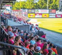 There's still plenty of time to take in a Mudcats game this season. Evan Moesta | Carolina Mudcats
