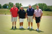 First place at the tournament went to the Place-Butner Public Safety team. Contributed photo
