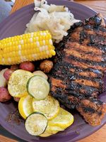 Our family's favorite marinade is delicious on grilled steaks.