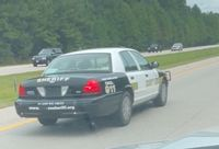 WCSO is looking for the driver of this car, which they say attempted to pull over another vehicle Thursday afternoon.