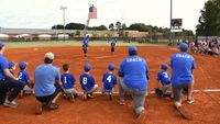 Rolesville's fall sports programs opened with youth baseball Sept. 11. It's the first time the sport has been played since the COVID-19 pandemic. Contributed Photo