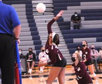 Bailey Burgess led Wakefield with 11 kills in the win at Knightdale.