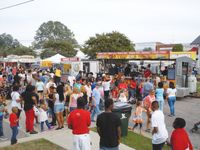 Plan on trying all kinds of food at this year's Spring Hope National Pumpkin Festival.