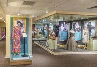 The 5,000-square-foot Ava Gardner Museum in Smithfield includes many of Gardner's personal dresses and costumes from her movie roles and television appearances. The museum has added five new exhibits this year.