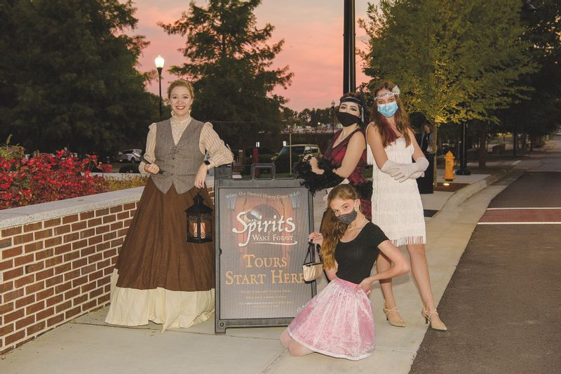 """Don't miss this year's """"Spirits of Wake Forest"""" ghost walks presented by Wake Forest Downtown Inc. in conjunction with Forest Moon Theater."""