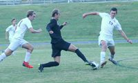 Wake Forest's Drew Frazier scored the final goal of the match in the 3-3 tie against Wakefield.
