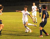 Josh Rutland scored two goals for the Cougars in the 4-0 win at Heritage.