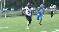 Rolesville's Noah Rogers returned a punt 70 yards for a touchdown and scored on a 61-yard receiving touchdown in the 58-6 win at East Wake.